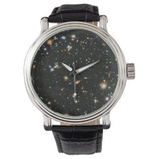 Relógio Estrelas no espaço - campo ultra profundo de