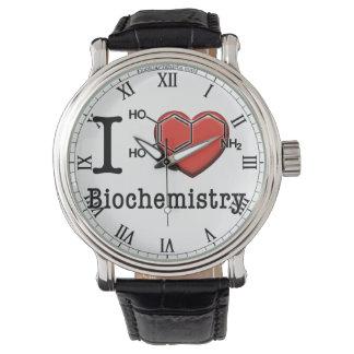Relógio Eu amo a bioquímica
