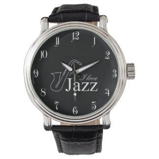 Relógio Eu amo o jazz