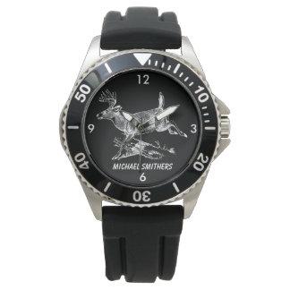 Relógio Fanfarrão do Whitetail com grande cremalheira