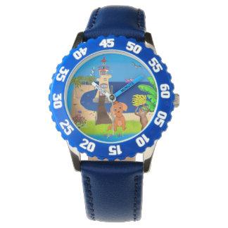 Relógio Farol feliz pelos Feliz Juul Empresa