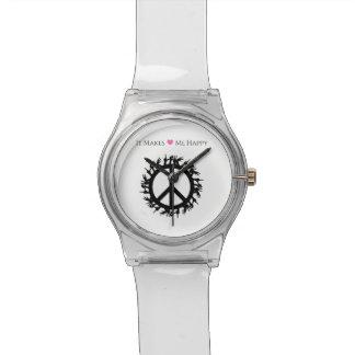 Relógio Faz-me a Feliz-Paz