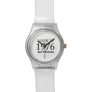 Relógio Feito em 1976