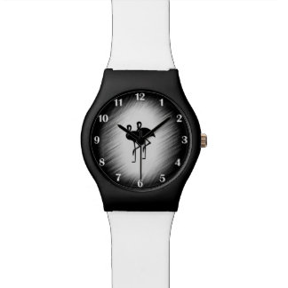 Relógio Flamingo fácil do tempo
