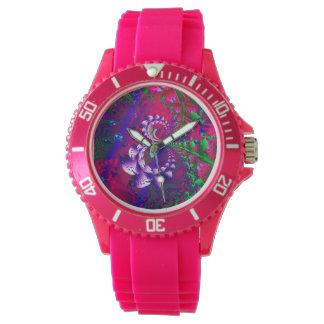 Relógio Fractal psicadélico de Nerdberries