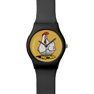 Relogio galinhas