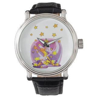 Relógio Gazer da estrela da Feliz-Feliz-Alegria-Alegria
