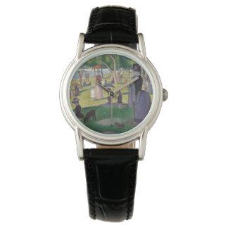 Relógio GEORGE SEURAT - Um 1884 um domingo à tarde