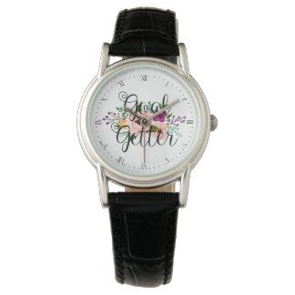 Relógio - getter do objetivo floral