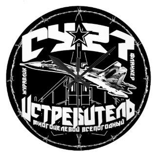 Relógio Grande (Су-27) (grande) pulso de disparo de parede Su-27
