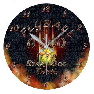 Relógio Grande 0,000 Flyball Flamz: É uma coisa do cão do começo!