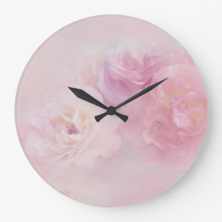 Relógio Grande 218 florais delicados