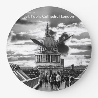 Relógio Grande A catedral Londres de St Paul