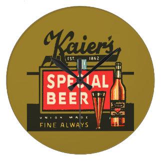 Relógio Grande A cerveja especial de Kaier