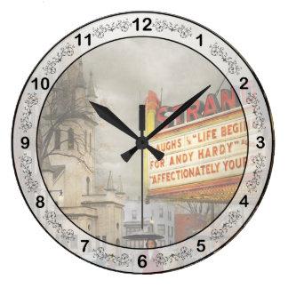 Relógio Grande A cidade - Amsterdão NY - vida começa 1941