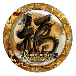 Relógio Grande A CONEXÃO DA PROSPERIDADE: Arte do Fengshui chinês