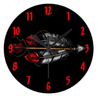 Relógio Grande A ordem da seta