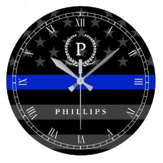 Relógio Grande A polícia denominou o monograma da bandeira