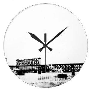 d0ad7db025b Relógios de Parede Arquitetura Do Vintage