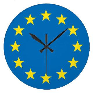 Relógio Grande A UE embandeira (União Europeia) o pulso de
