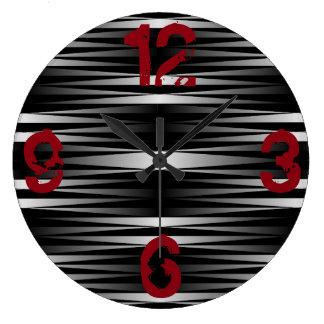 Relógio Grande A zebra branca projetou o pulso de disparo