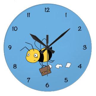 Relógio Grande Abelha de Beezness, abelha forçada cansado que