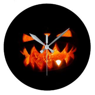 Relógio Grande Abóbora do Dia das Bruxas