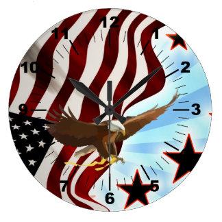 Relógio Grande Águia americana