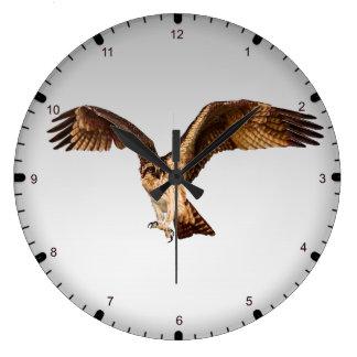 Relógio Grande Águia de peixes