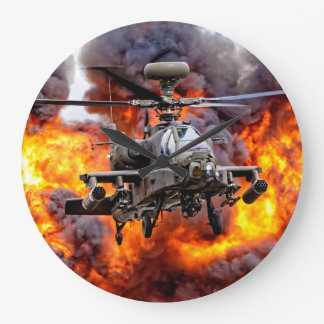 Relógio Grande AgustaWestland Apache AH1