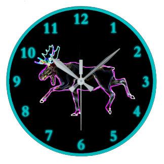 Relógio Grande Alces elétricos