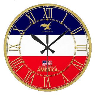 Relógio Grande América colore o pulso de disparo moderno dos
