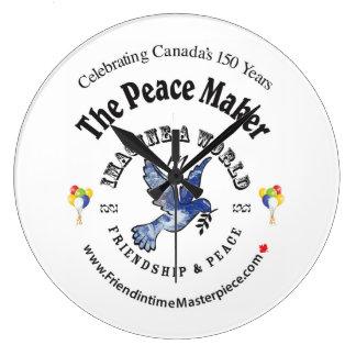 Relógio Grande Amizade & paz