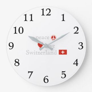 Relógio Grande Amor e suiça da paz