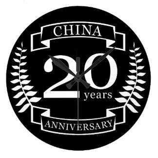 Relógio Grande Aniversário de casamento tradicional de China 20