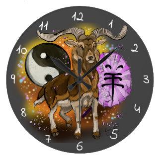 Relógio Grande Ano chinês da ram