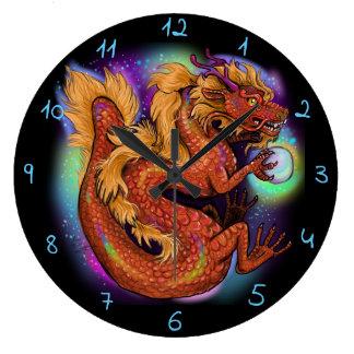 Relógio Grande Ano chinês do dragão