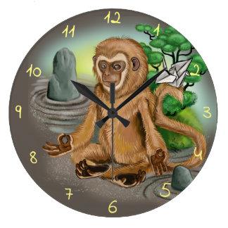 Relógio Grande Ano chinês do zodíaco do macaco