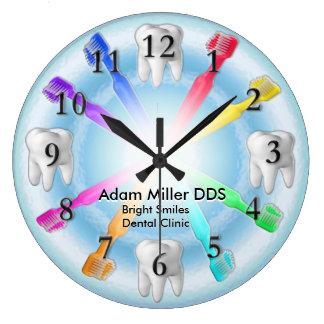 Relógio Grande Arco-íris feito sob encomenda do pulso de disparo