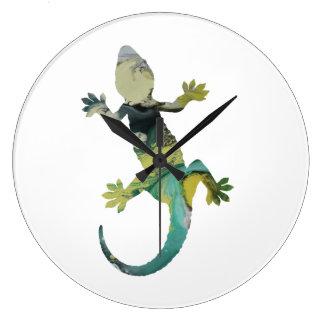 Relógio Grande Arte do geco