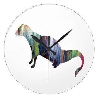 Relógio Grande Arte do mangusto
