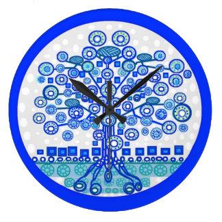 Relógio Grande Árvore do pulso de disparo da vida