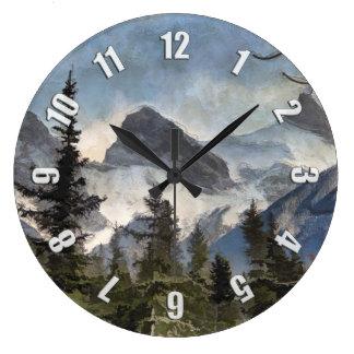 Relógio Grande As três irmãs - montanhas rochosas canadenses