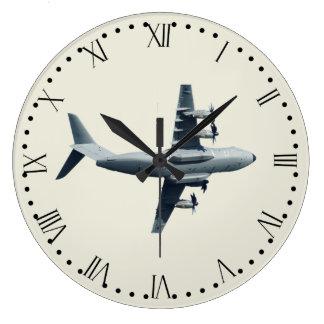 Relógio Grande Aviões do atlas A400M - 1