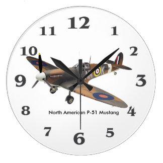 Relógio Grande Aviões do ll da guerra mundial para (o grande)