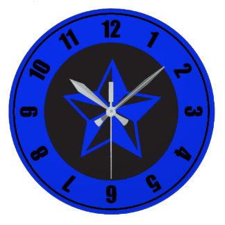 Relógio Grande Azul e enegreça cinco pontos: Pulso de disparo de