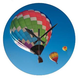 Relógio Grande Balões de ar quente