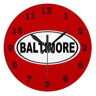 Relógio Grande Baltimore Maryland