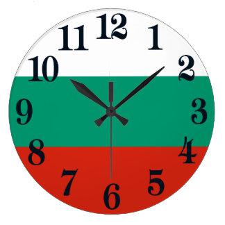 Relógio Grande Bandeira de Bulgária ou de búlgaro