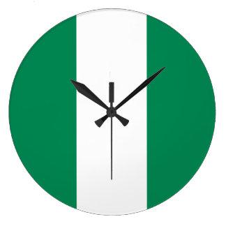 Relógio Grande Bandeira de Nigéria